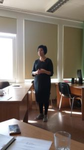 Kalba LEU Lituanistikos fakulteto dekanė doc. dr. Žydronė Kolevinskienė