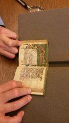 Miniatiūrinė rankraštinė maldaknygė iš Vokietijos