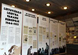 "Paroda ""Lietuviškoji leidyba Vakarų Europoje 1944–1952 m."" Kauno IX forto muziejuje"