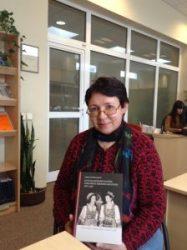 Prof. Danutė Petrauskaitė at the Lituanica Reading Room