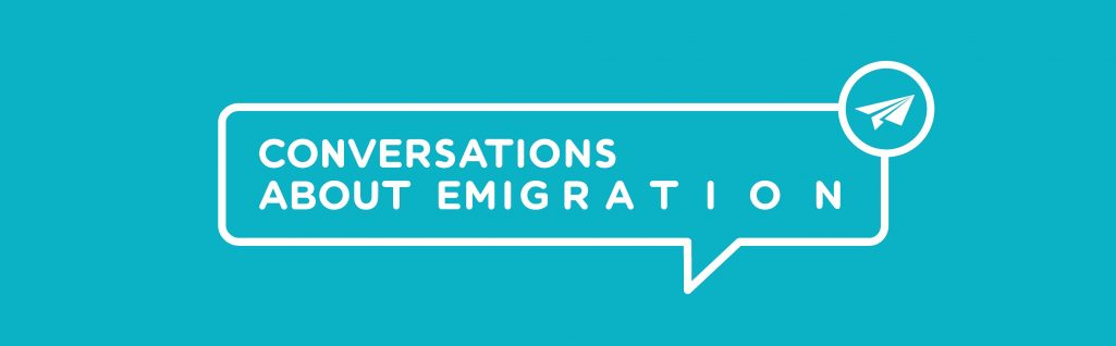 Conversations About Emigration Logo